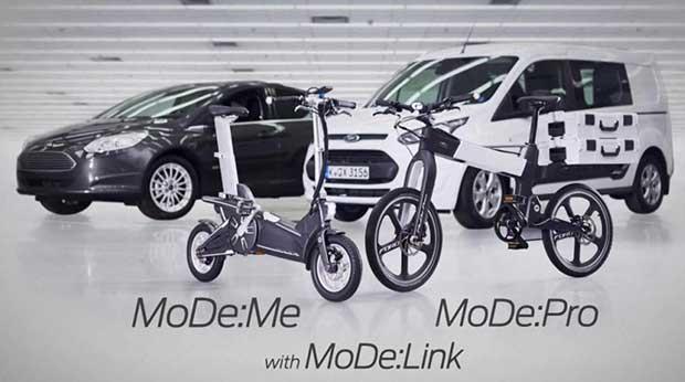 """fordmode1 03 03 15 - Ford MoDe: bici pighievoli elettriche e """"smart"""""""