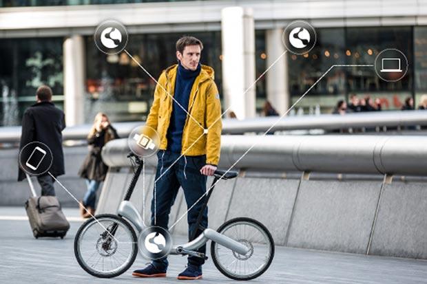 """jivr bike 17 03 2015 - JIVR Bike: la bicicletta """"smart"""" pieghevole"""