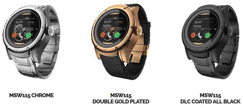 """kairos1 26 03 15 - Kairos: smartwatch """"ibridi"""" con OLED trasparente"""