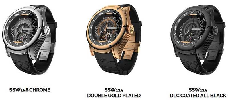"""kairos2 26 03 15 - Kairos: smartwatch """"ibridi"""" con OLED trasparente"""