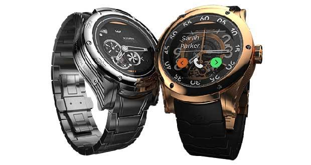"""kairos evi 26 03 15 - Kairos: smartwatch """"ibridi"""" con OLED trasparente"""