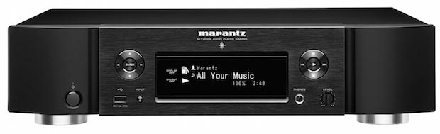 na6500 05 03 2015 - Marantz NA6500: network player Wi-Fi e Bluetooth