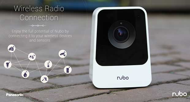 "nubo4 03 03 15 - Panasonic Nubo: webcam Full HD ""smart"" e 4G"