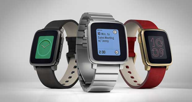 pebbletime1 04 03 15 - Pebble Time e Time Steel: smartwatch e-Paper a colori