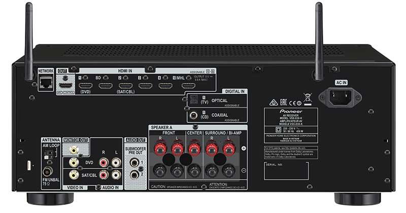 pioneer2 20 03 15 - Pioneer VSX-830: ampli 5.2 con HDMI 2.0 e HDCP 2.2