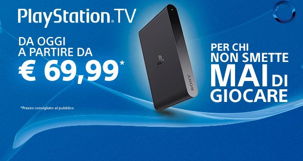 playstation tv 30 03 2015 - PlayStation TV ribassata a 69,99 Euro