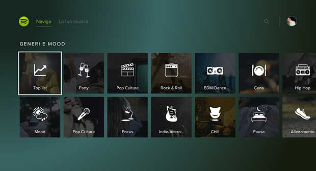 playstationmusic2 30 03 15 - PlayStation Music con Spotify ora disponibile