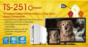 qnap ts251c evi 12 03 2015 300x160 - QNAP TS-251C: NAS compatto con uscita HDMI