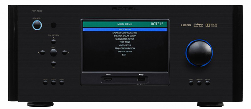 rotel3 11 03 15 - Rotel RSP-1582: processore 7.2 Atmos, DTS:X e Auro-3D