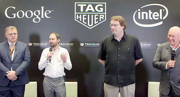 tagheuer2 19 03 15 - Tag Heuer: smartwatch Android Wear con Intel