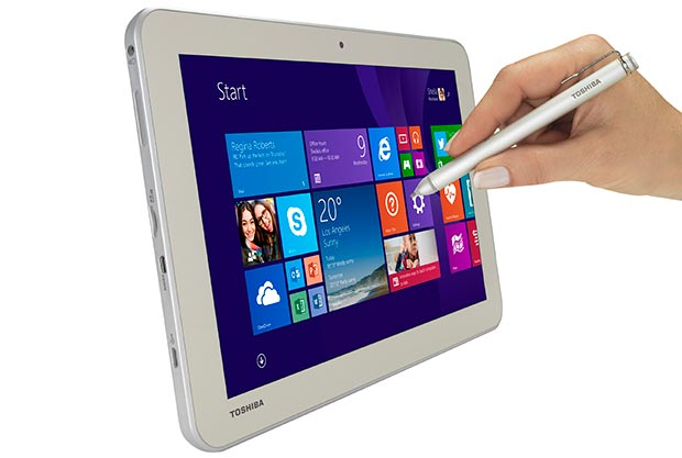 "toshiba 2 17 03 2015 - Toshiba Encore 2 Write: tablet 10"" con Windows 8.1"