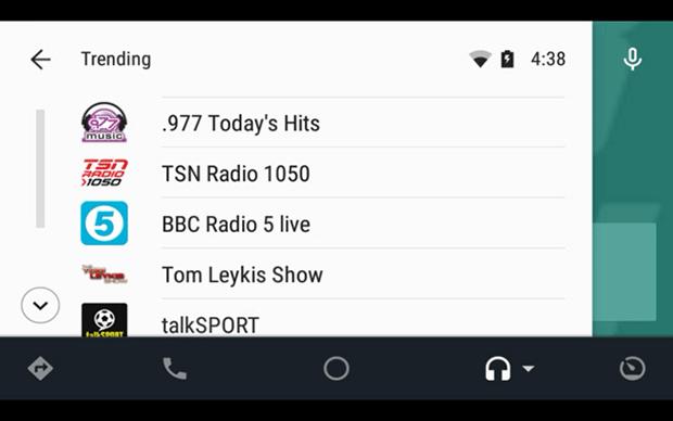 tunein2 23 03 15 - TuneIn ora compatibile Android Auto