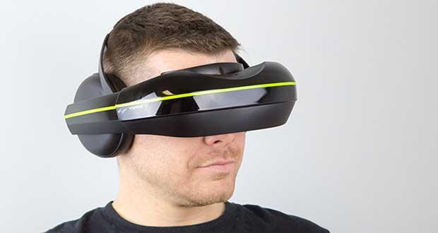 """vuzix1 06 03 15 - Vuzix IWear 720: visore VR """"multi-device"""""""
