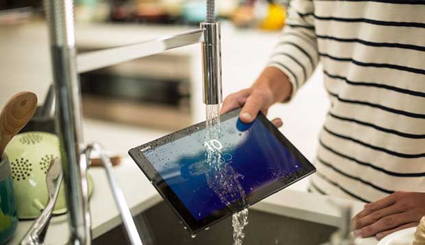 z4tablet4 02 03 15 - Sony Xperia Z4 Tablet: tablet 8 core con LCD 2,5K