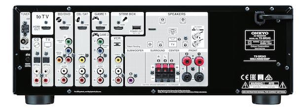 TX SR343 2 27 04 2015 - Onkyo TX-SR343 e TX-NR545: ampli con HDMI 2.0a
