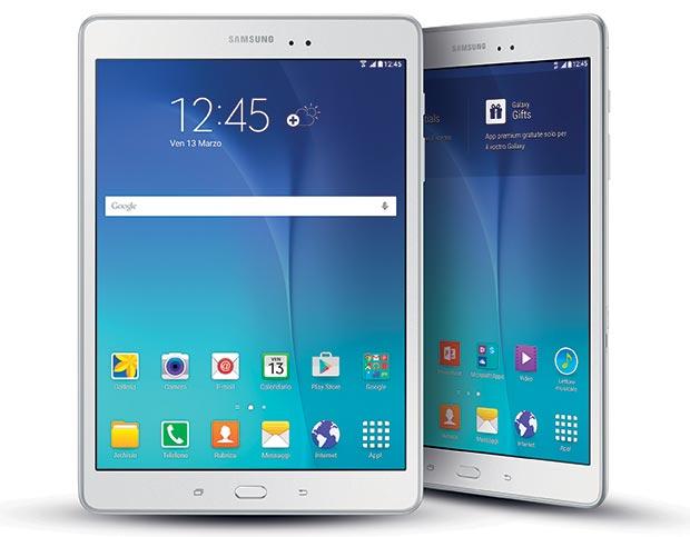 "galaxy taba 29 04 2015 - Samsung Galaxy Tab A: tre modelli da 9,7"" con risoluzione XGA"