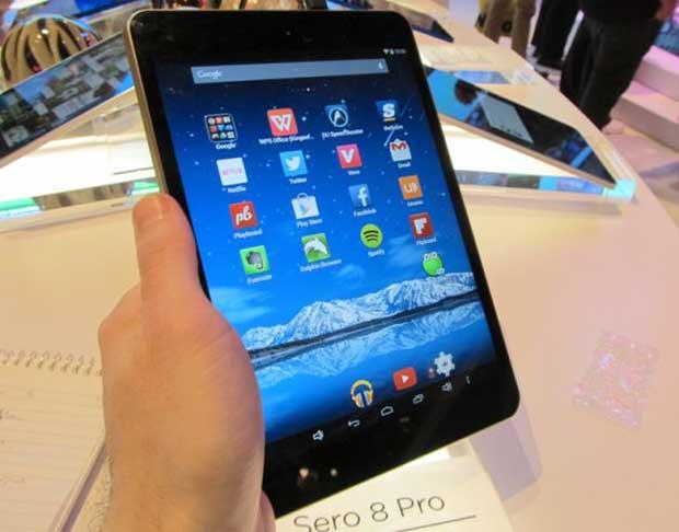 """hisense8 2 15 04 15 - Hisense Sero 8 Pro: tablet 8 pollici """"retina"""" quad-core"""