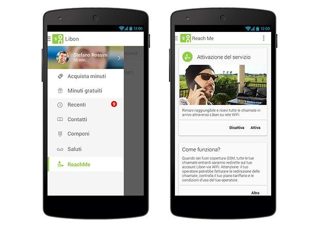 libon 23 04 2015 - Libon Reach Me: chiamate su rete Wi-Fi