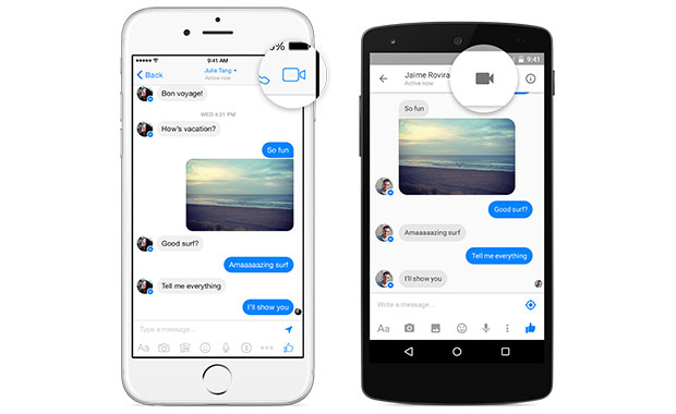 messengervideo2 28 07 15 - Facebook: videochiamate su Messenger (non in Italia)