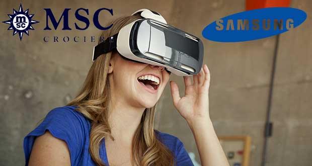 msc samsung 30 04 15 - Samsung e MSC Crociere: viaggio multisensoriale a 360°