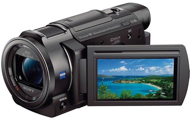 sony fdrax33 20 04 2015 - Sony FDR-AX33: videocamera con video UHD a 100Mbps
