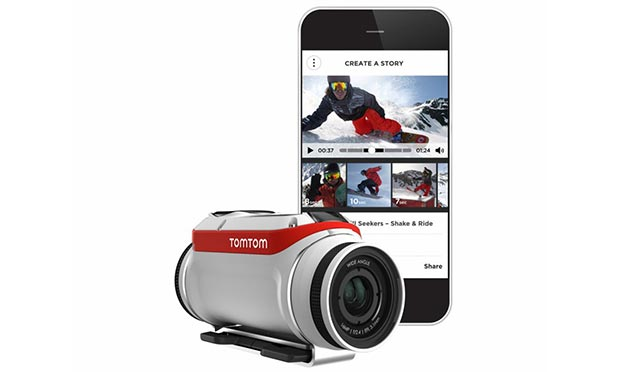 tomtom bandit 2 29 04 2015 - TomTom Bandit: action cam che semplifica l'editing dei video