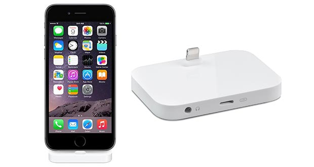apple dock 20 05 2015 - Apple Lightning Dock: dock per iPhone 6 e 6 Plus