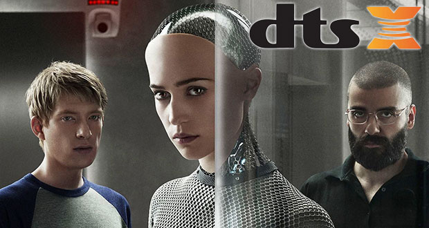 "dtsx bluray 28 05 2015 - ""Ex Machina"" in Blu-ray con traccia audio DTS:X"