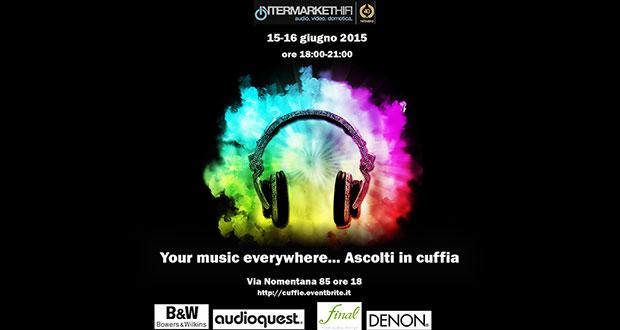 headphones music 27 05 2015 - Audiogamma: evento cuffie a Roma il 24-25 giugno