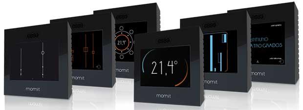 momit2 14 05 15 - Momit: termostato intelligente con touch-screen
