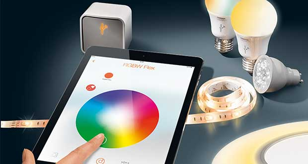 "osram evi 29 05 15 - Osram Lightify: lampadine LED WRGB ""smart"""
