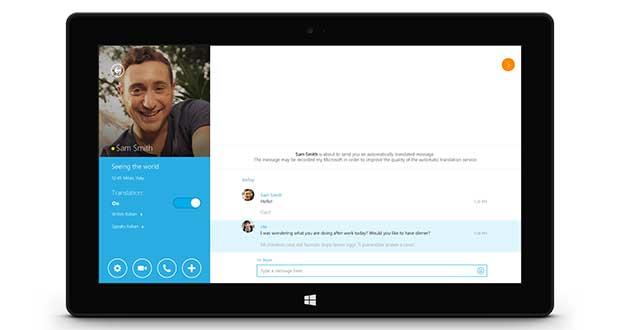 skype1 13 05 15 - Skype Translator: ora per tutti e in italiano