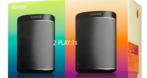 sonos play1 promo 27 05 2015 - Sonos Kit di Base 2 Stanze: due diffusori PLAY:1 a 349€