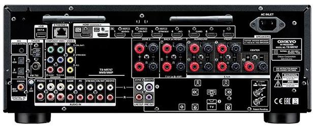 tx nr646 r 13 05 2015 - Onkyo TX-NR646 e TX-NR747: ampli 7.2 Dolby Atmos e DTS:X
