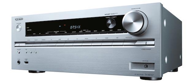 tx nr747 13 05 2015 - Onkyo TX-NR646 e TX-NR747: ampli 7.2 Dolby Atmos e DTS:X