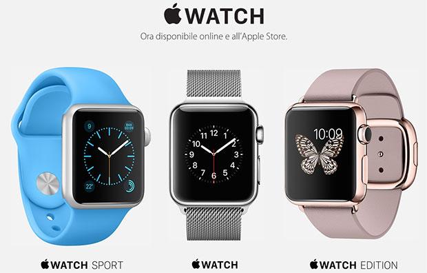 apple watch 26 06 2015 - Apple Watch: prezzi a partire da 419 Euro