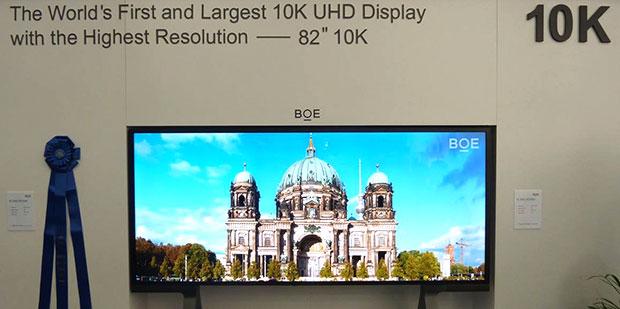 boe 10k 05 06 2015 - BOE ha presentato il primo display a risoluzione 10K