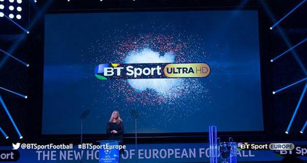 bt sport ultrahd - BT Sport Ultra HD: nuovo canale UHD attivo da agosto