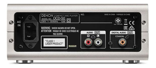denon dcd50 2 03 06 2015 - Denon DCD-50: lettore CD compatto