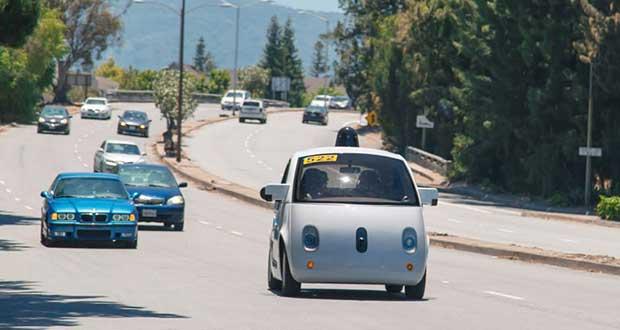 googleauto 29 06 15 - Google: auto senza conducente su strada