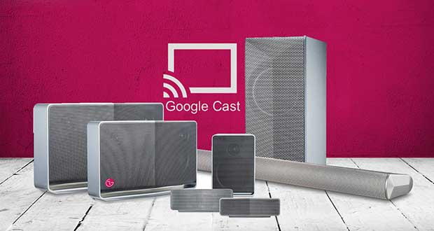 lggooglecast1 04 05 15 - LG Music Flow ora con supporto Google Cast