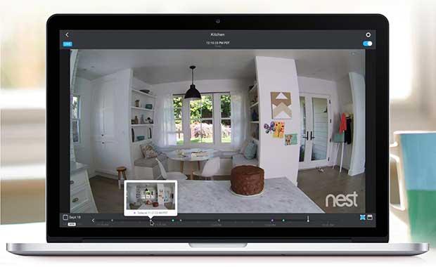 "nest3 19 06 15 - Nest Cam: videocamera ""smart"" 1080p"