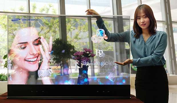 "samsungoled1 10 06 15 - Samsung svela OLED trasparenti e ""specchio"""