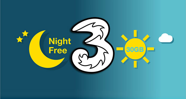 tre night unlimited 12 06 2015 - Tre Night Unlimited: 30GB di traffico su LTE ogni notte