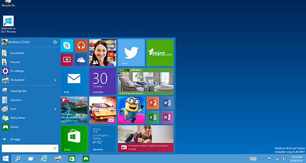 windows 10 01 06 2015 - Windows 10 disponibile dal 29 luglio