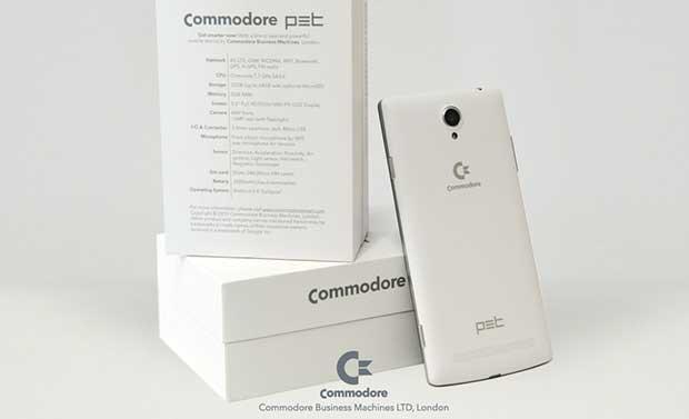 """commodorepet2 21 07 15 - Commodore PET: il ritorno """"italiano"""" con uno smartphone"""