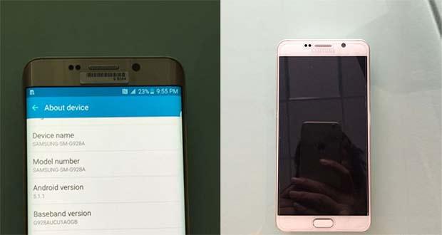 galaxy note 5 evi 24 07 2015 - Galaxy Note 5 e Galaxy S6 Edge Plus: prime immagini ufficiose