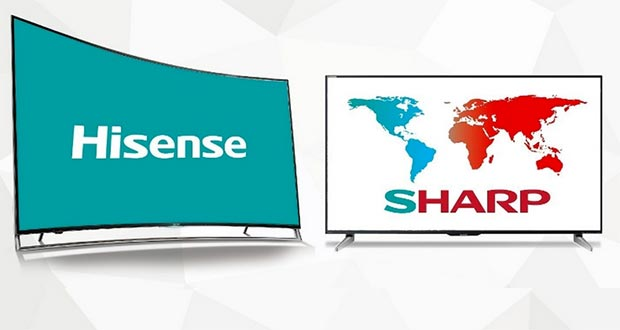 hisense sharp 31 07 2015 - Hisense acquista Sharp America per 23,7 milioni $