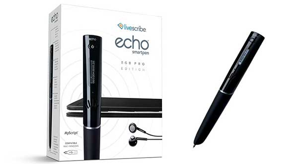 "livescribeecho1 31 07 15 - Livescribe Echo Smartpen 8GB Pro: penna ""intelligente"""