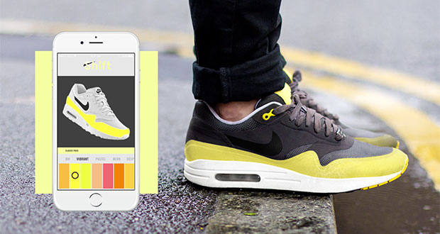 shift sneaker 03 07 2015 evi - Shift Sneaker: la scarpa che cambia colore e design con un'app